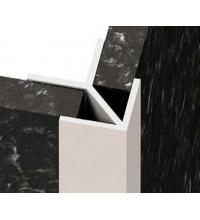 Планка угловая W для стеновой панели (6 мм) (SV)