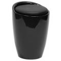 Табурет-сундучок BARNEO N-13 OTTO черный