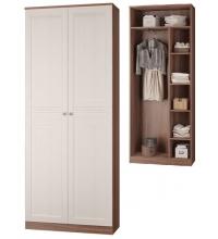 Шкаф для платья и белья (Прихожая Лестер)