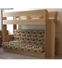 Кровать двухъярусная Дива