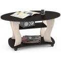 Журнальный столик Сатурн М05 венге/дуб линдберг