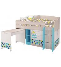 Кровать-чердак малый (Детская Джимми) (80х170)