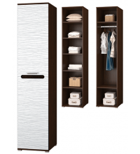 Шкаф для платья и белья (Спальня Мишель)