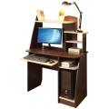 Компьютерный стол Интел 17 Венге магия/дуб девонширский