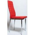 Стул Cafe 1 (f261) хром, Красный