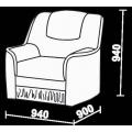 Кресло Нео 4 (КР) схема