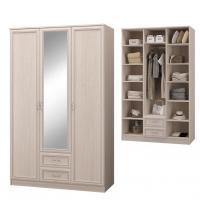 Шкаф для одежды с 3-мя двер., с зер. (Спальня Верона)