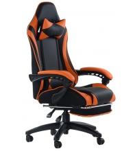 Кресло Barneo K-39 Black Edition (кожзам)