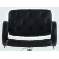 Полубарный стул BARNEO N-135 Gregor для столешниц 75-95см Черный