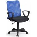 Кресло Том Синий-черный