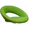Полубарный стул BARNEO N-84 Mira для столешниц 75-95см Светло-зеленый