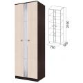 Шкаф (Гамма 15 модульная) венге/дуб млечный
