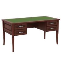Письменный стол Юта-65-42 (вставка - сукно) (Юта)