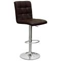 Барный стул N-48H Kruger темно коричневый