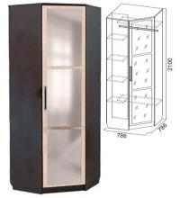 Шкаф угловой (спальня ЭДМ 2)