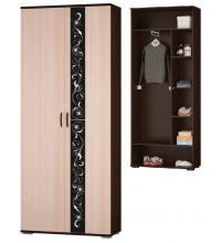 Шкаф для платья и белья (Адажио)