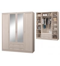 Шкаф для одежды с 4-мя двер., с зер. (Спальня Верона)