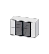 Шкаф навесной Бм.Кор-05 (АЛ)