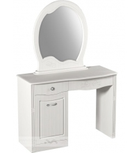Туалетный столик + зеркало Ева-10 (Мар-М)